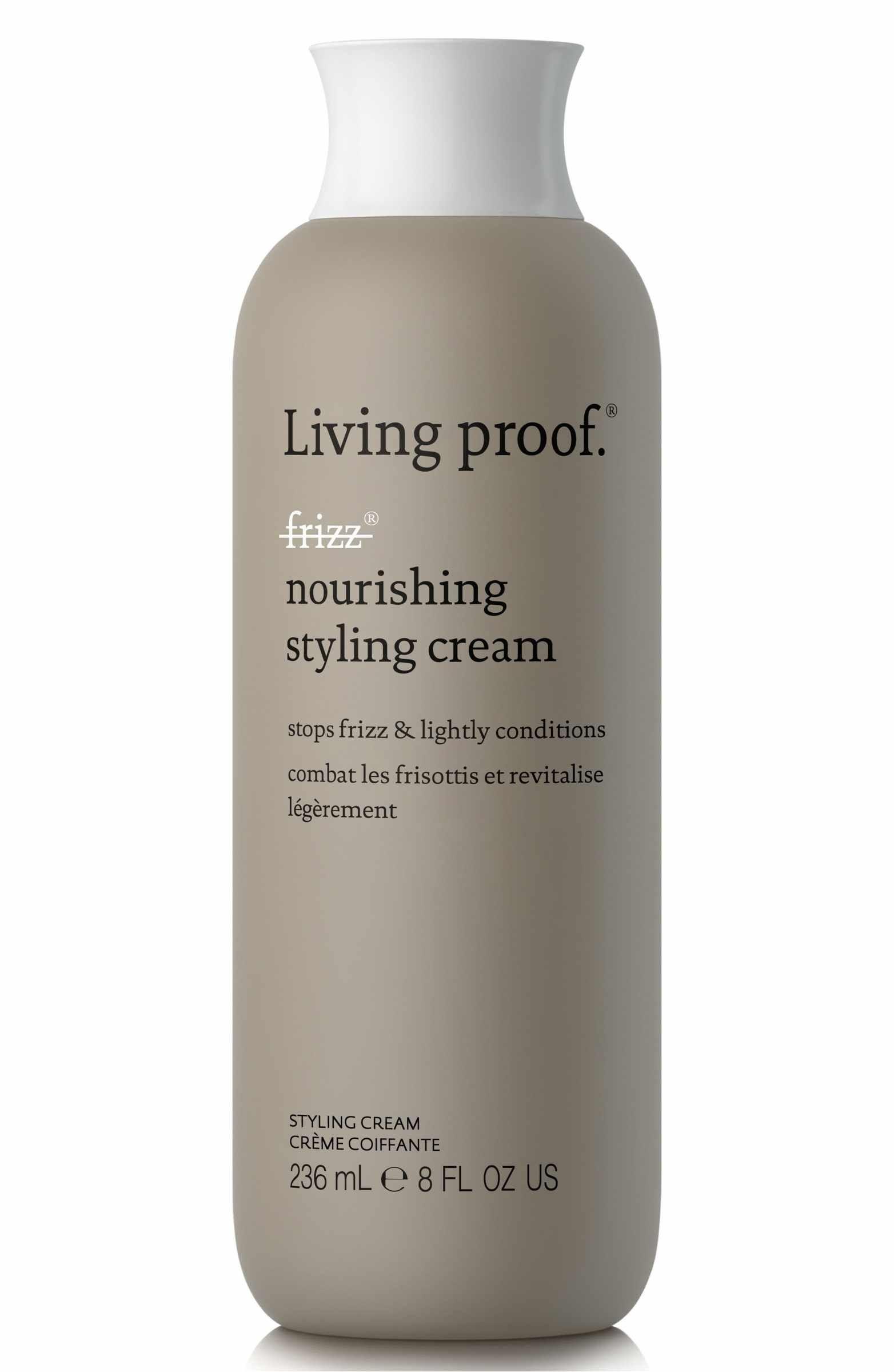 Living Proof No Frizz Nourishing Styling Cream Nordstrom Styling Cream Living Proof Hair Products Anti Frizz Products