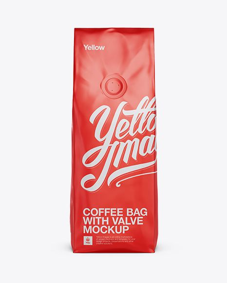 Download 250g Matte Metallic Coffee Bag With Valve Mockup Front View In Bag Sack Mockups On Yellow Images Object Mockups Free Psd Mockups Templates Mockup Free Psd Free Mockup