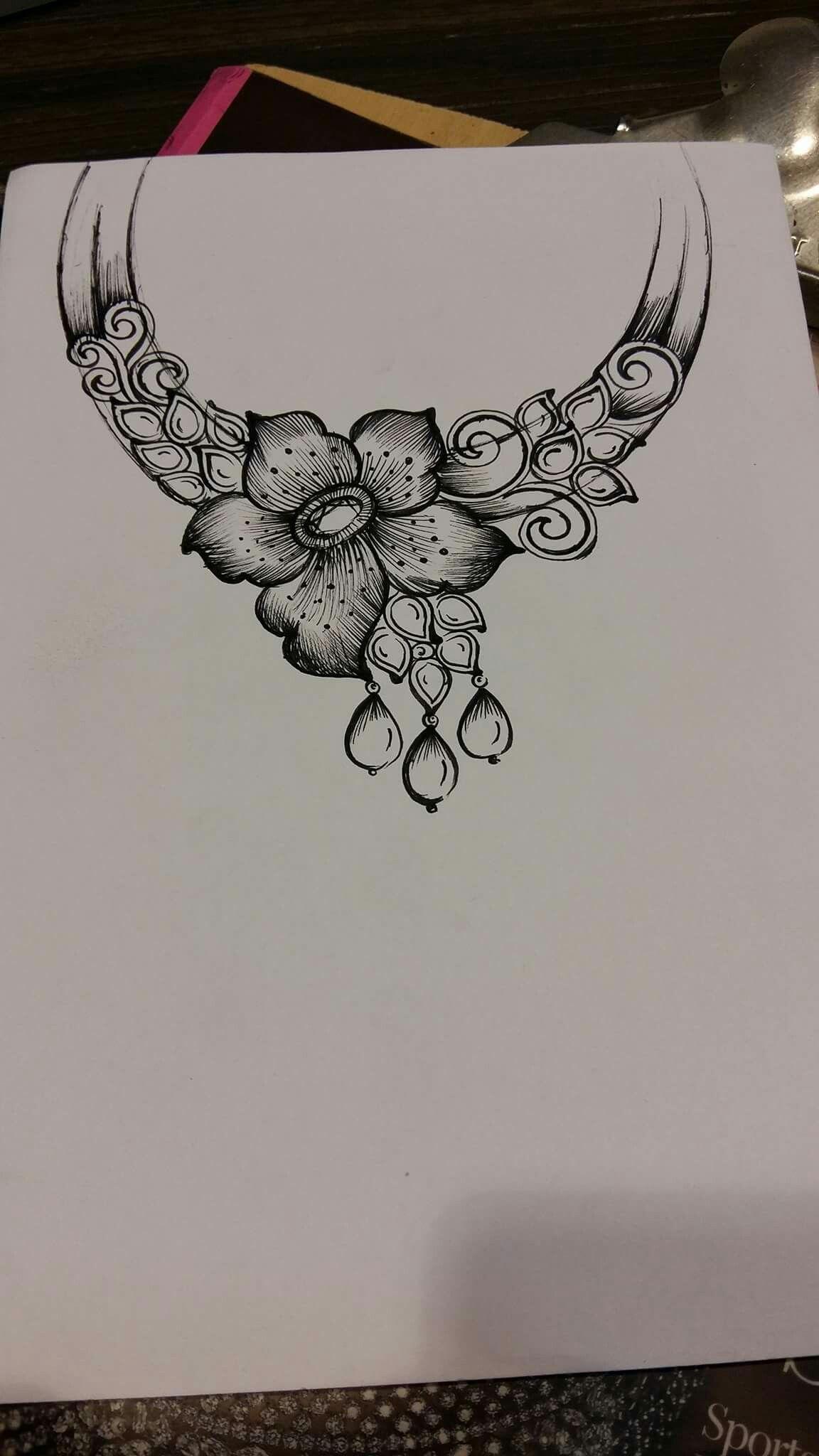 Pin By Vijay Soni On Jewellery Illustration Iii Jewellery Design Sketches Jewelry Design Drawing Jewelry Drawing