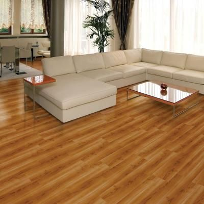 Add The Deep Texture Of Hardwood Flooring In To Your Living Space With TrafficMASTER Allure Ultra Red Cherry Luxury Vinyl Plank