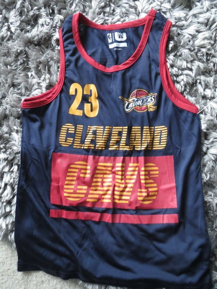 huge discount a3bc3 3ec07 Details about Youth Cleveland Cavaliers Shirt Size 10-12 ...