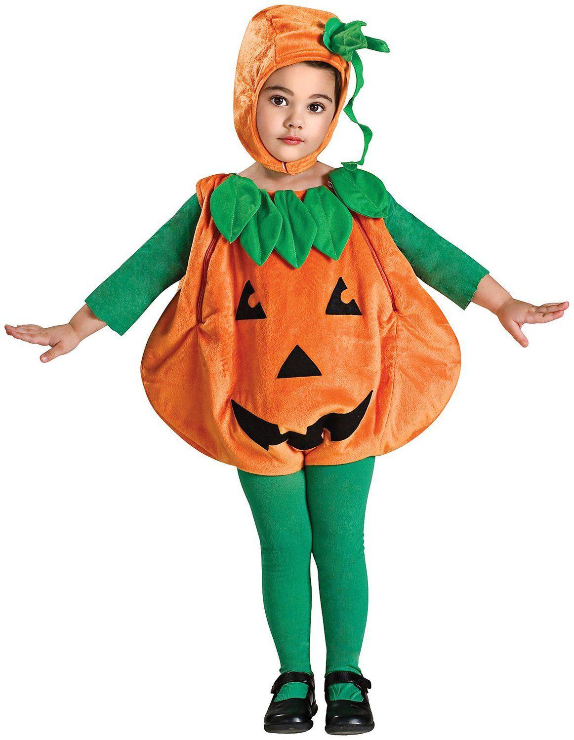 pumpkin costume Kids pumpkin costume, Toddler girl