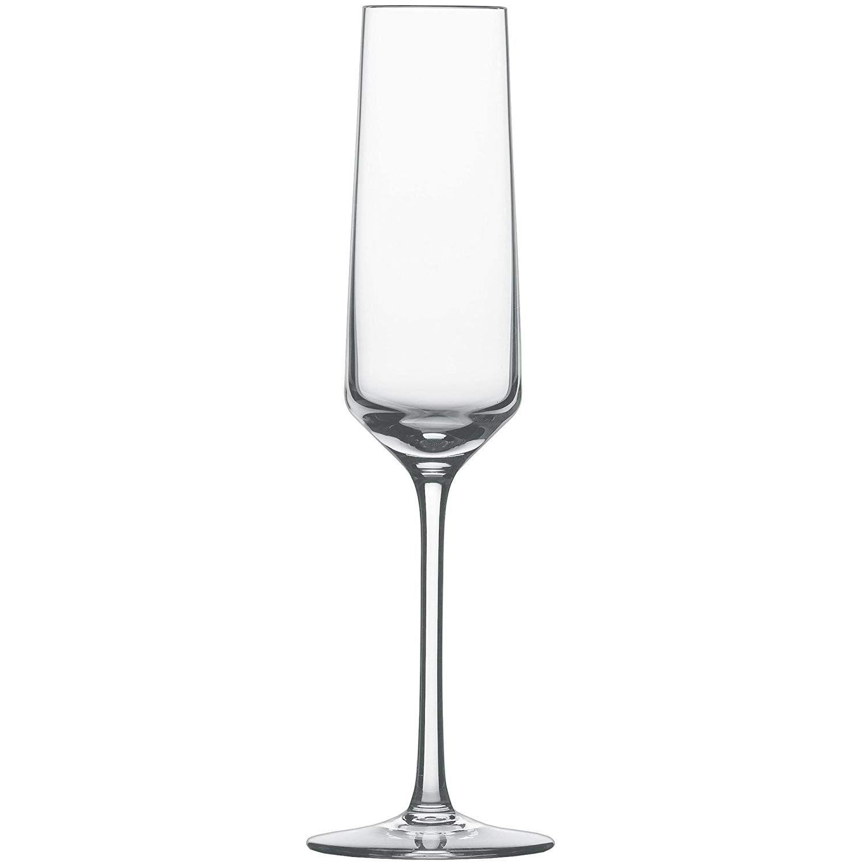 Amazon Com Schott Zwiesel Tritan Crystal Glass Pure Stemware Collection Cabernet Red Wine Glass 18 2 Ounce Set O Flute Glass Schott Zwiesel Champagne Flute Schott zwiesel tritan crystal glass