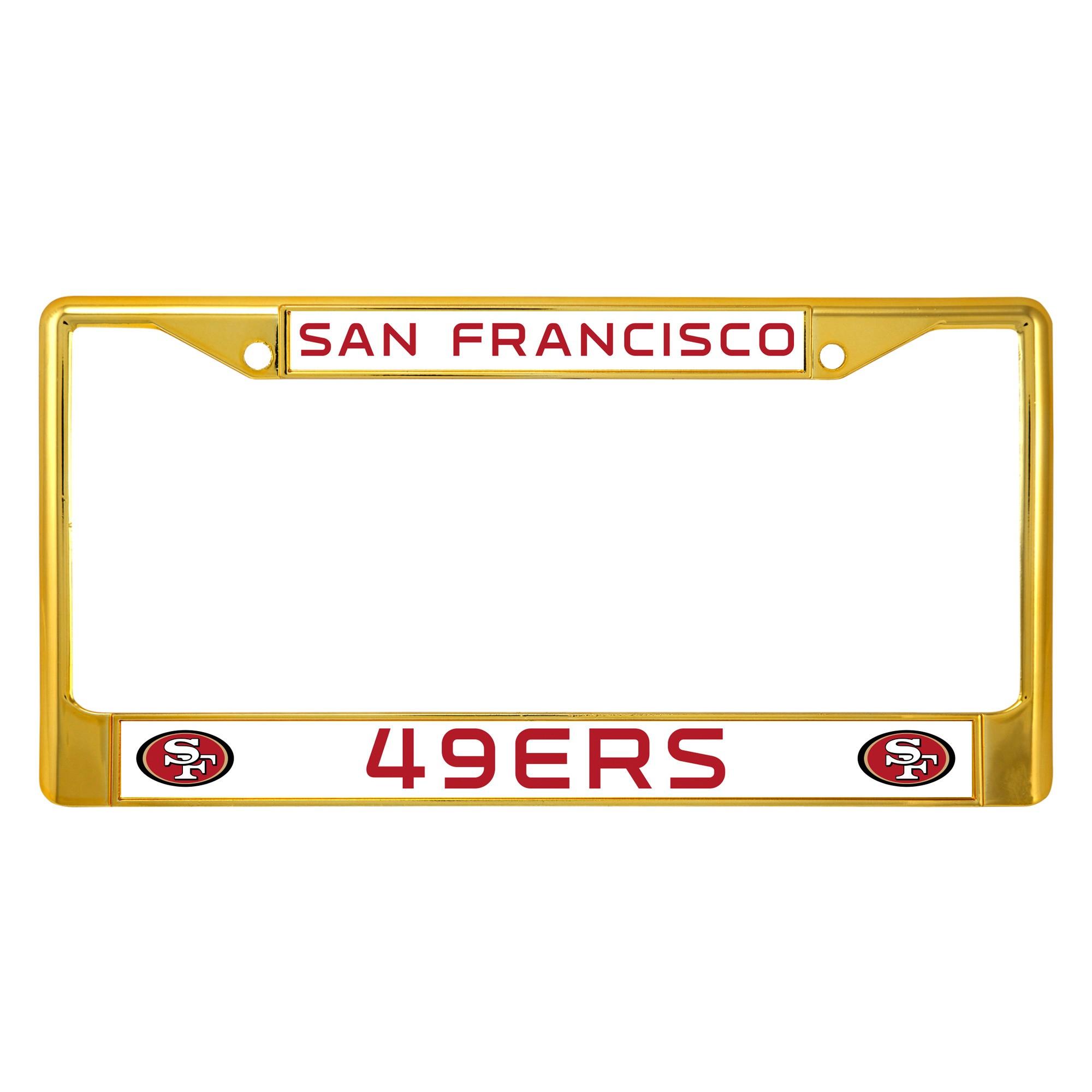NFL San Francisco 49ers License Plate Frame | Nfl san francisco ...
