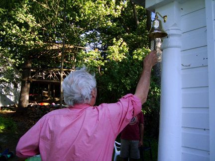 The cottage Dinner Bell!