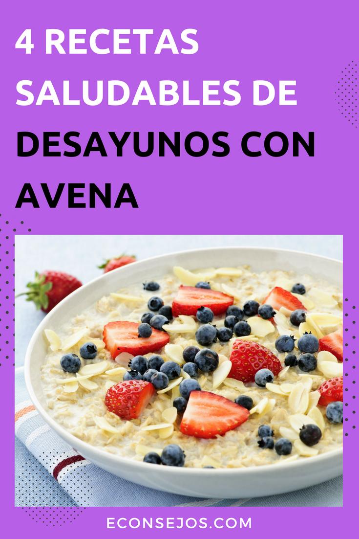 Recetas Con La Avena