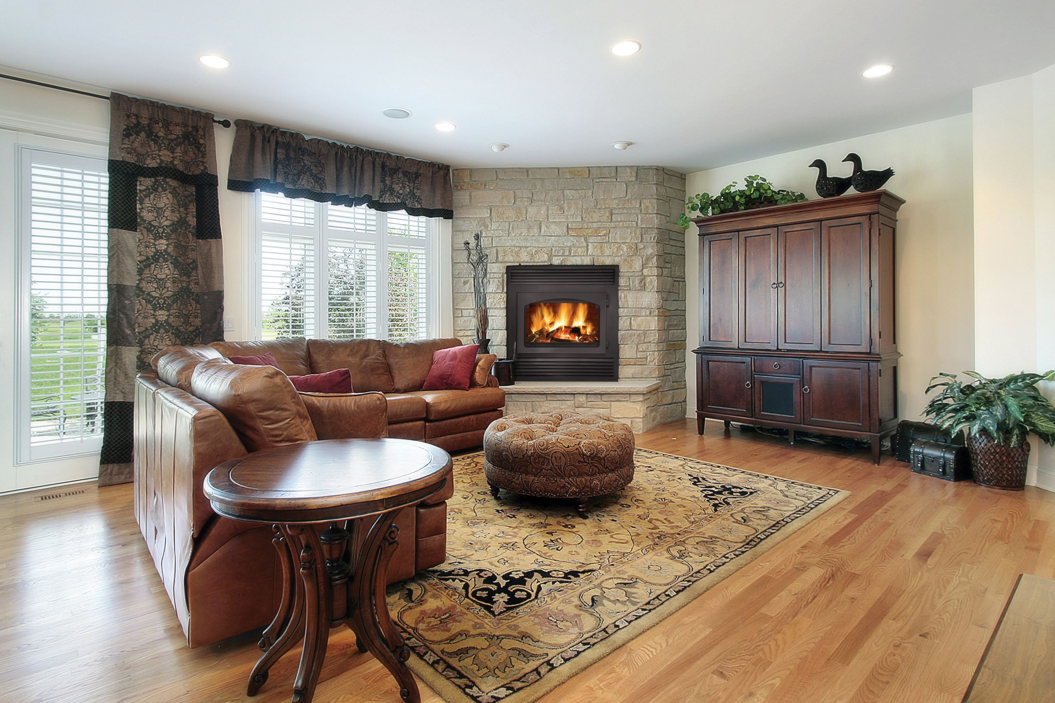 nz26 napoleon fireplace a wood fireplace that heats your home for