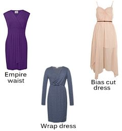 Flattering dress styles for body types