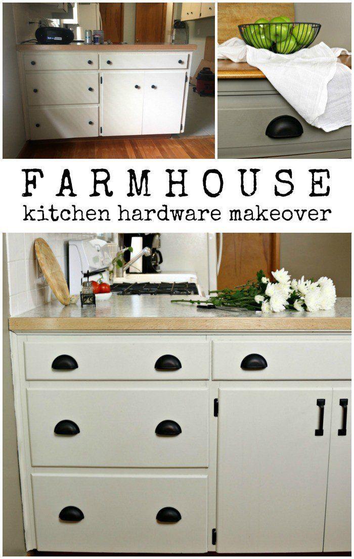 farmhouse kitchen hardware makeover kitchen hardware diy staircase makeover farmhouse on farmhouse kitchen hardware id=86869