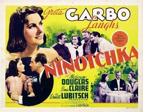 Image result for ninotchka 1939 POSTER