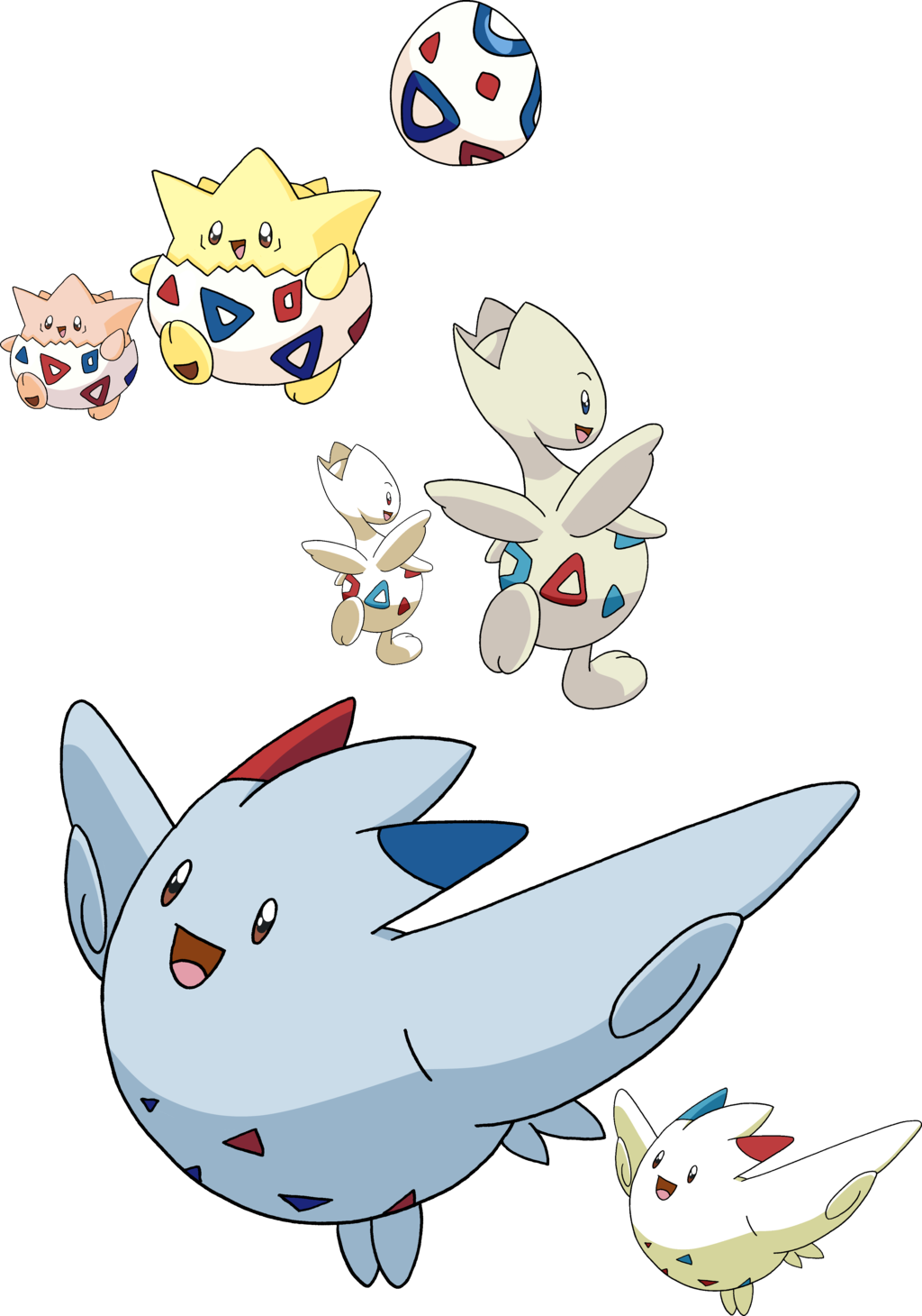 9887308a 175, 176 and 468 - Togepi Evolutionary Family by Tails19950 on deviantART