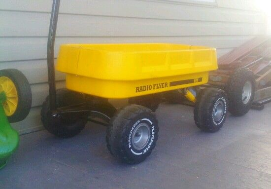 Radio Flyer Playloader Wagon From The Late 1980 S