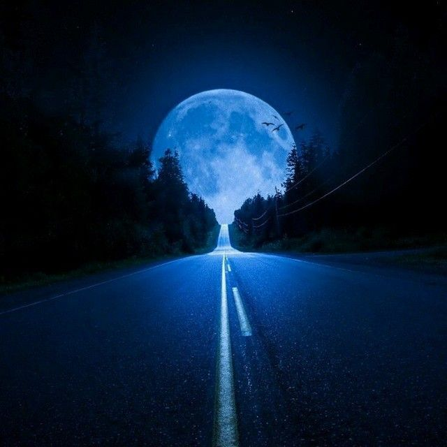 There's a road I travel often…chasing the moon....