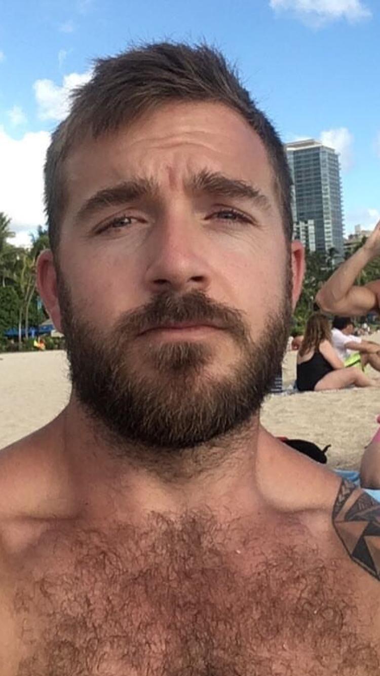 Mens military haircut pin by f fisherman on hot guys  pinterest  hairy men bearded men