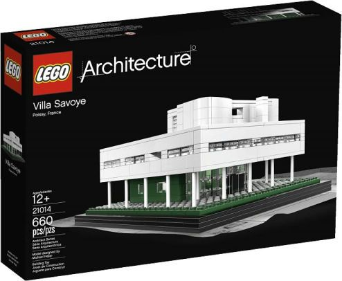 build a lego brick model of this famous modernist style country house residence