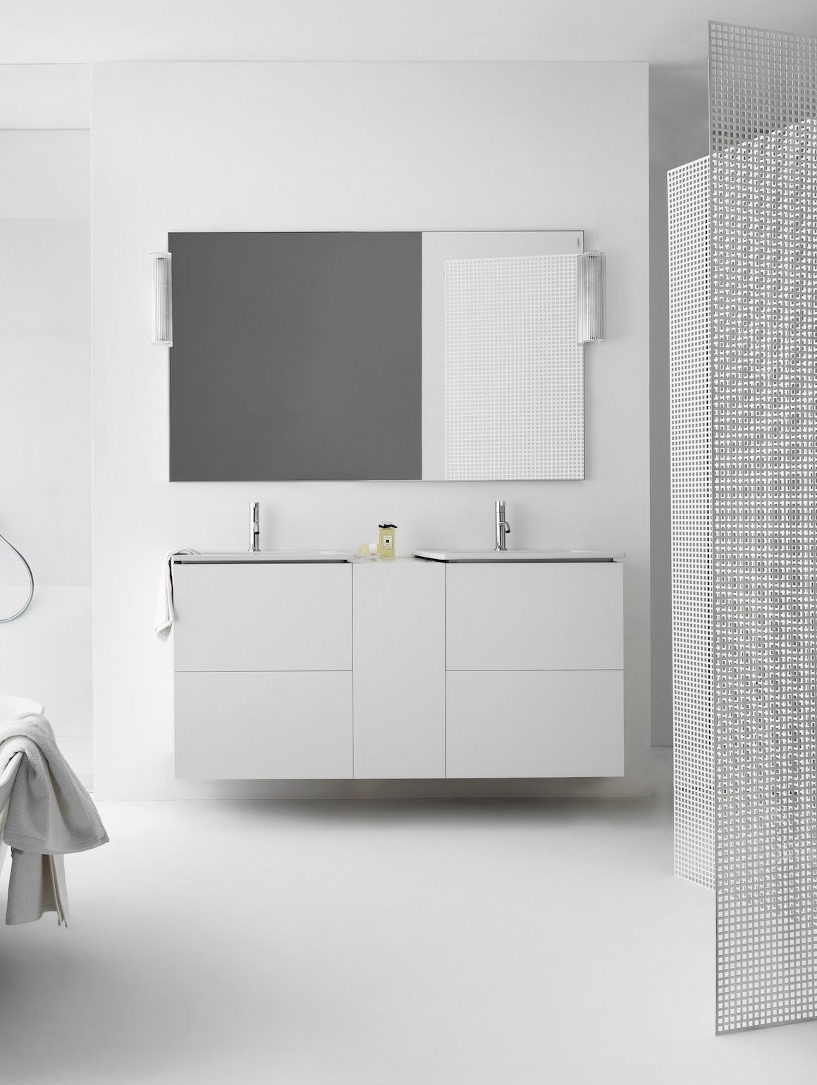Laufen Kartell Kombipack Kombination Aus Waschtisch Und Waschtischunterbau Mit 2 Schubladen 600x500 Badezimmer Mobel Waschtisch Schubladen