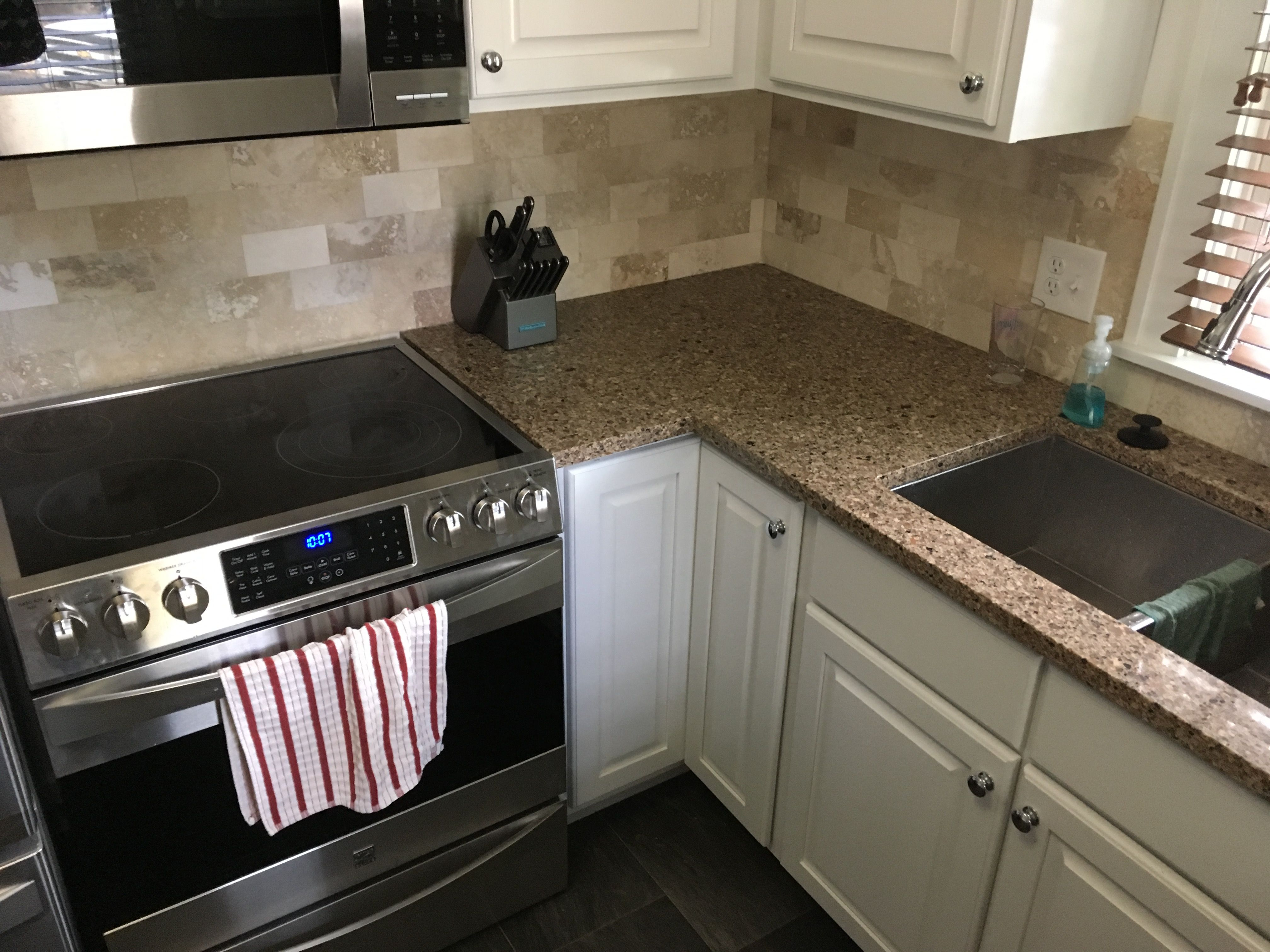 Upgrades to this Minneapolis kitchen included Silestone