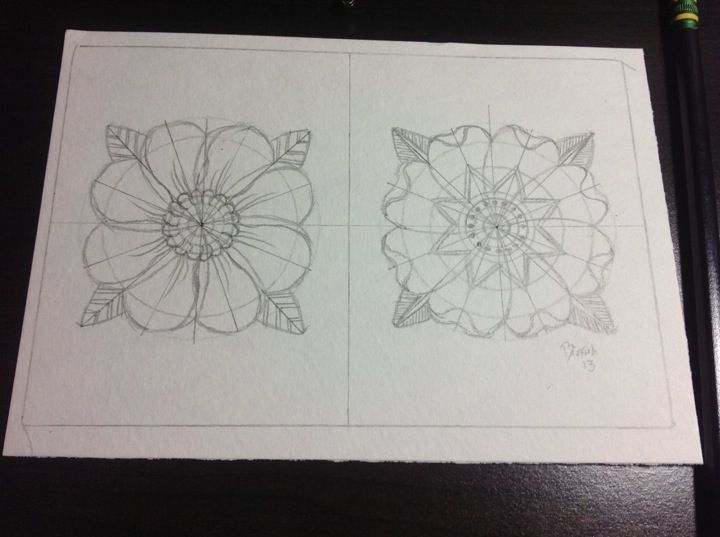 Traditional Flower Line Drawing : Traditional flowers tattoo flash pencil sketch american