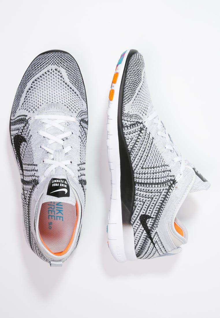 new arrival 25806 30f3f Nike Performance FREE TR FLYKNIT - Trainers - white black pure platinum hyper  violet for £100.00 (30 05 16) with free delivery at Zalando