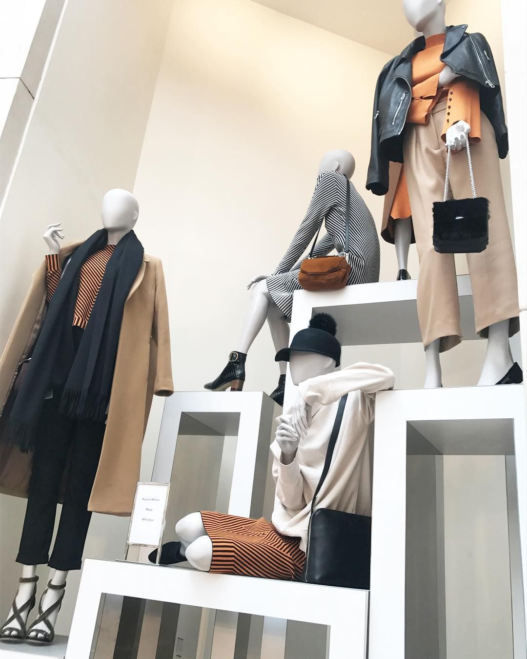 "BROWN THOMAS, Dublin, Ireland, ""Add warmth to your outfit with these Autumnal/Fall shades for the seasons ahead!"", pinned by Ton van der Veer"