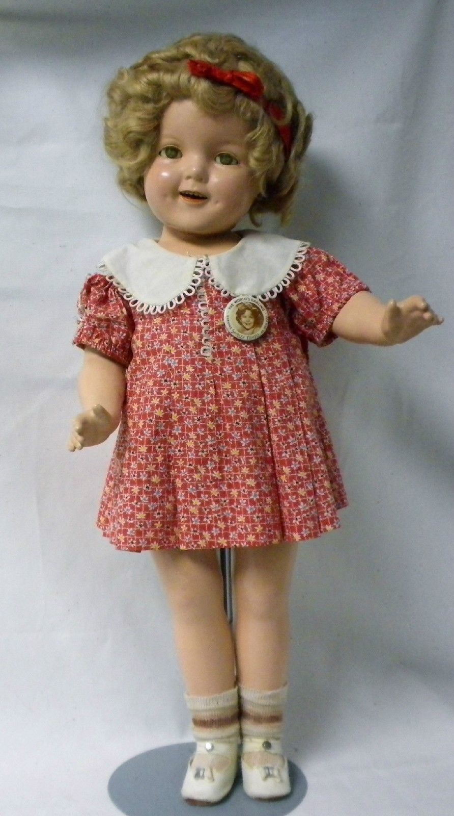 """Vintage Shirley Temple Composition Doll Clothes Pattern ~ 15/"""" 16/"""" Patsy Joan"""