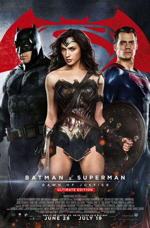 Batman V Superman Dawn Of Justice 2016 Superman Poster Superman Movies Batman Vs Superman
