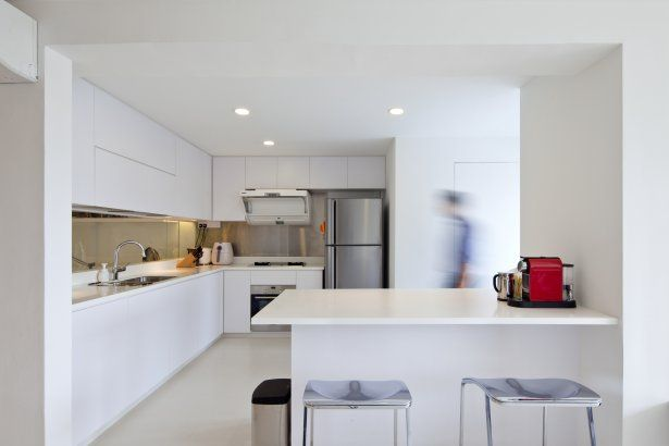 Project Maisonette Apartment In Queenstown Architizer Kitchen Hdb Maisonette Singapore
