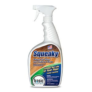 Squeaky Cleaner Spray Cleaner For Wood And Laminate Floors The Original Hardwood Floor Cleaner Is Designed For Daily Floor Cleaner Household Cleaners Cleaners