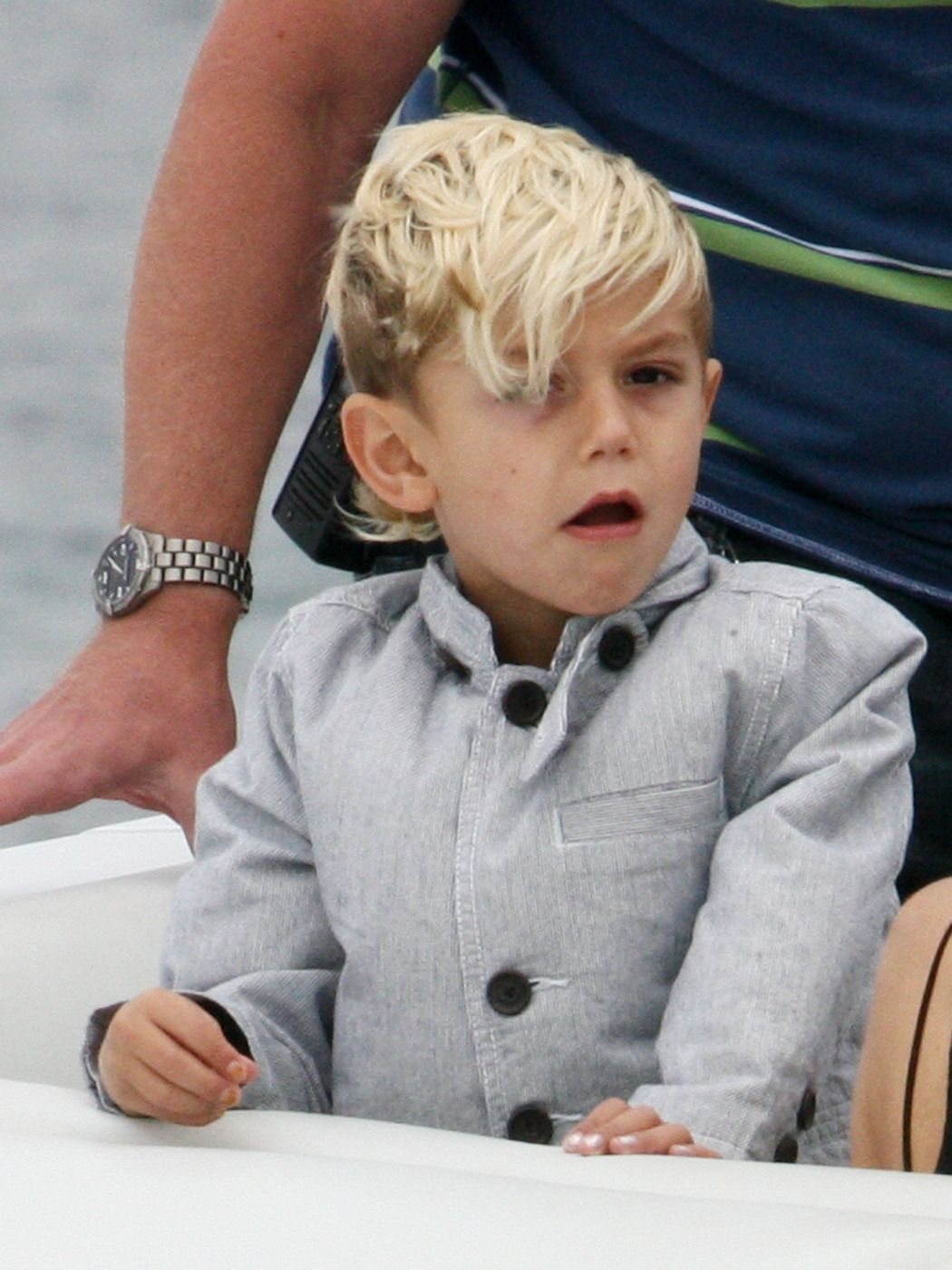 Boy hairstyle long on top  images about celebrity kids cuts on pinterest  kingston