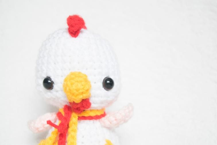 Baby Rooster | free Craftsy pattern download ... | Free amigurumi ...