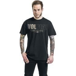 Volbeat Distressed Logo T-Shirt