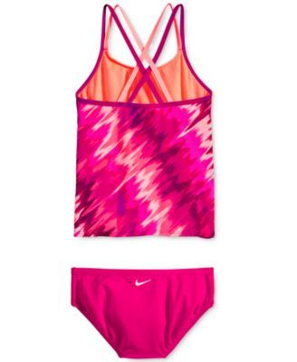 c857da49e55 Nike 2-Pc. Splash Spiderback Tankini Swimsuit