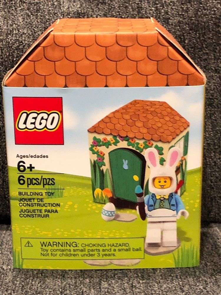 Lego - EASTER BUNNY HOUSE - 2018 - Brand New Unopened Set - RETIRED