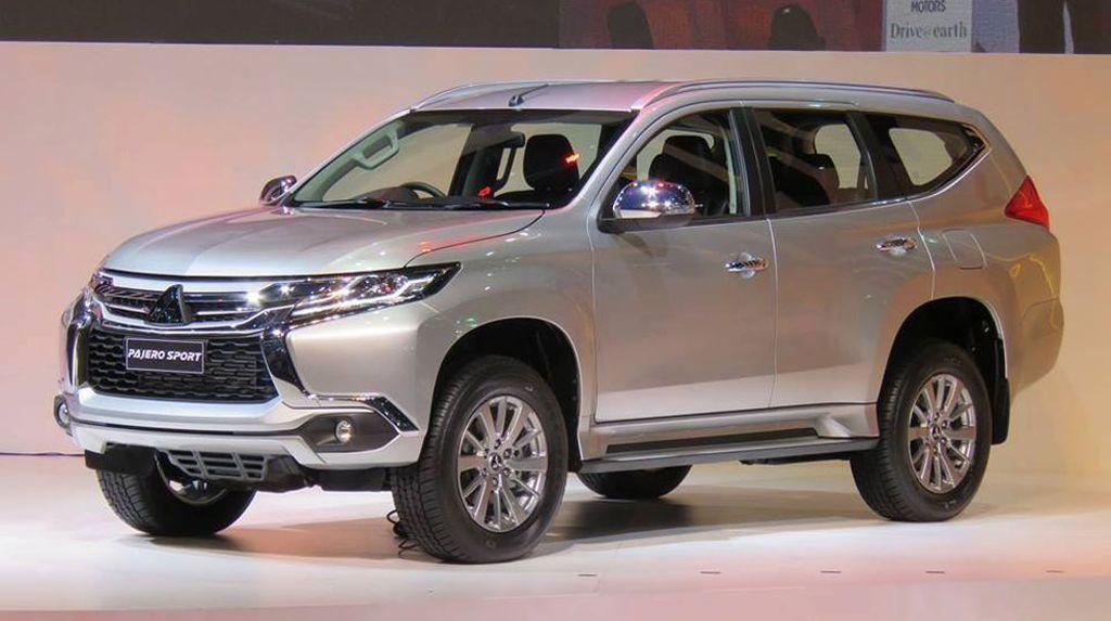 Mitsubishi chính thức ra mắt Pajero Sport 2016 với mức giá