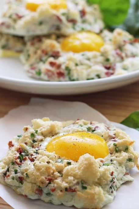 Eggs In Clouds Recipe Light Healthy Eats Low Calorie