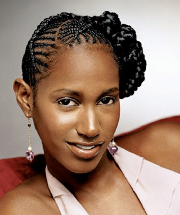 Awesome Braided Hairstyles For Black Women 2014 Braided Updo Hairstyles Hairstyles For Men Maxibearus