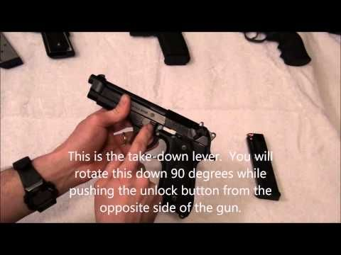 How to disassemble a Beretta 92 (M9) | How To Video