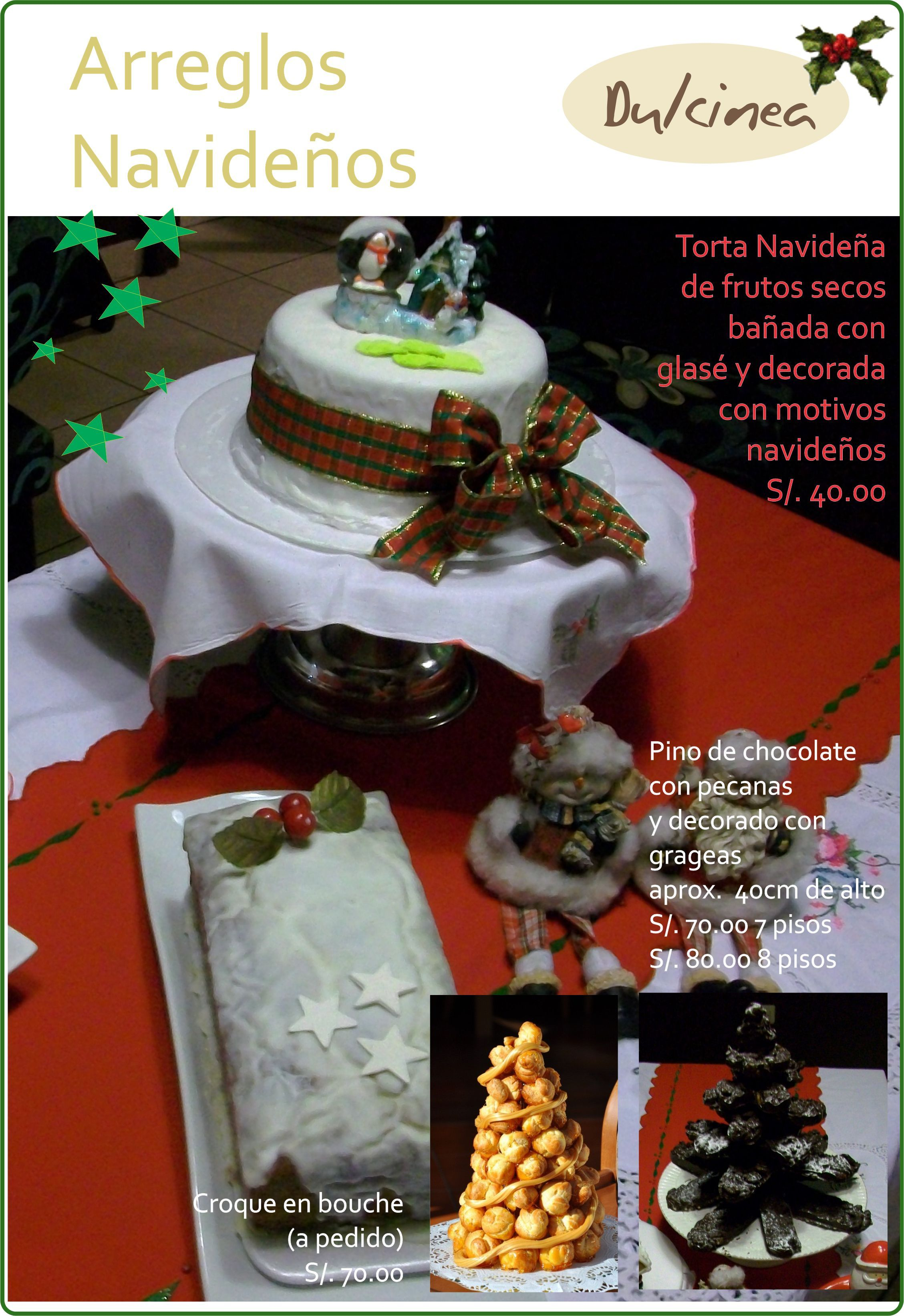 Arreglos navide os para centro de mesa y comestibles for Arreglos navidenos para mesa