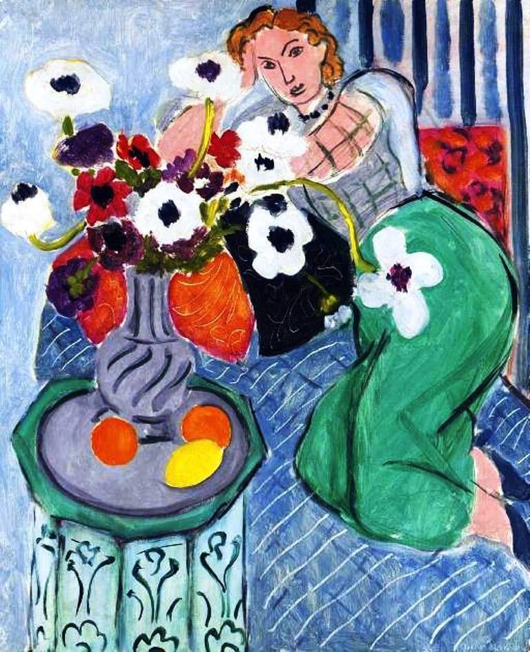Henri Matisse 1905 A women with a hat (Madame Matisse) \