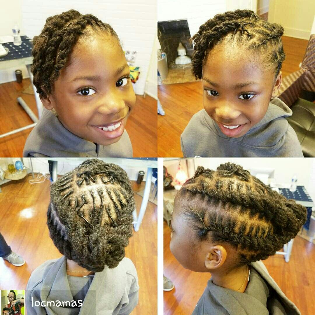 Pin On Kids Rock Locs Natural Hair 2