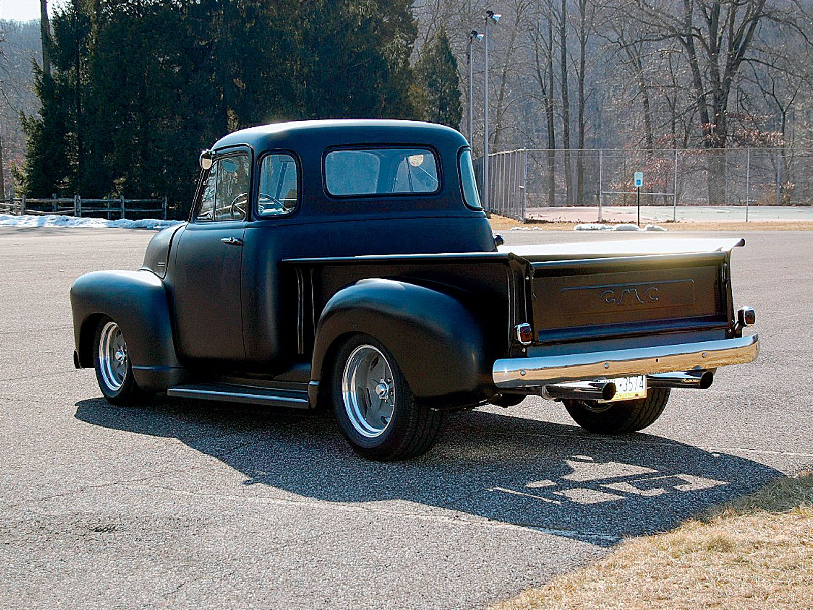 1948 gmc five window pickup truck classic trucks magazine
