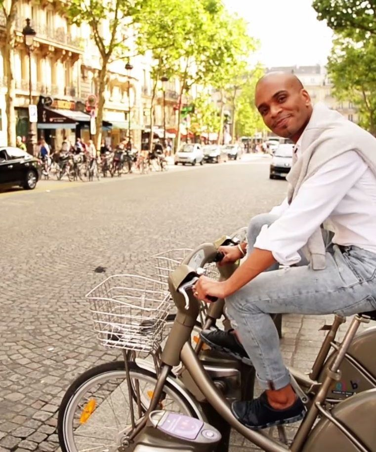 See the city on two wheels with the bikeshare service Velib' with over 23,600 bikes in service around the city