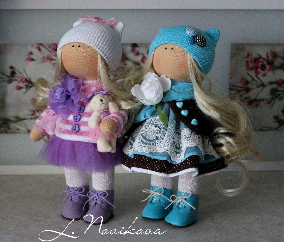 самодельные куклы фото цветок