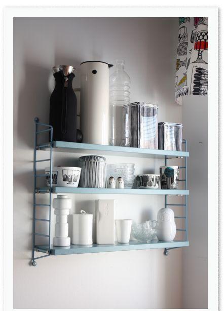 String-Regale für die Küche? | Regale | Pinterest | String regal ...