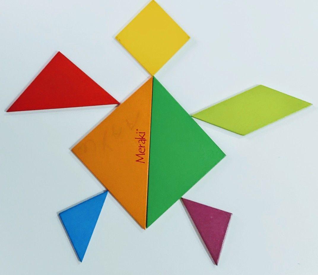 Pin On Tangram Puzzle