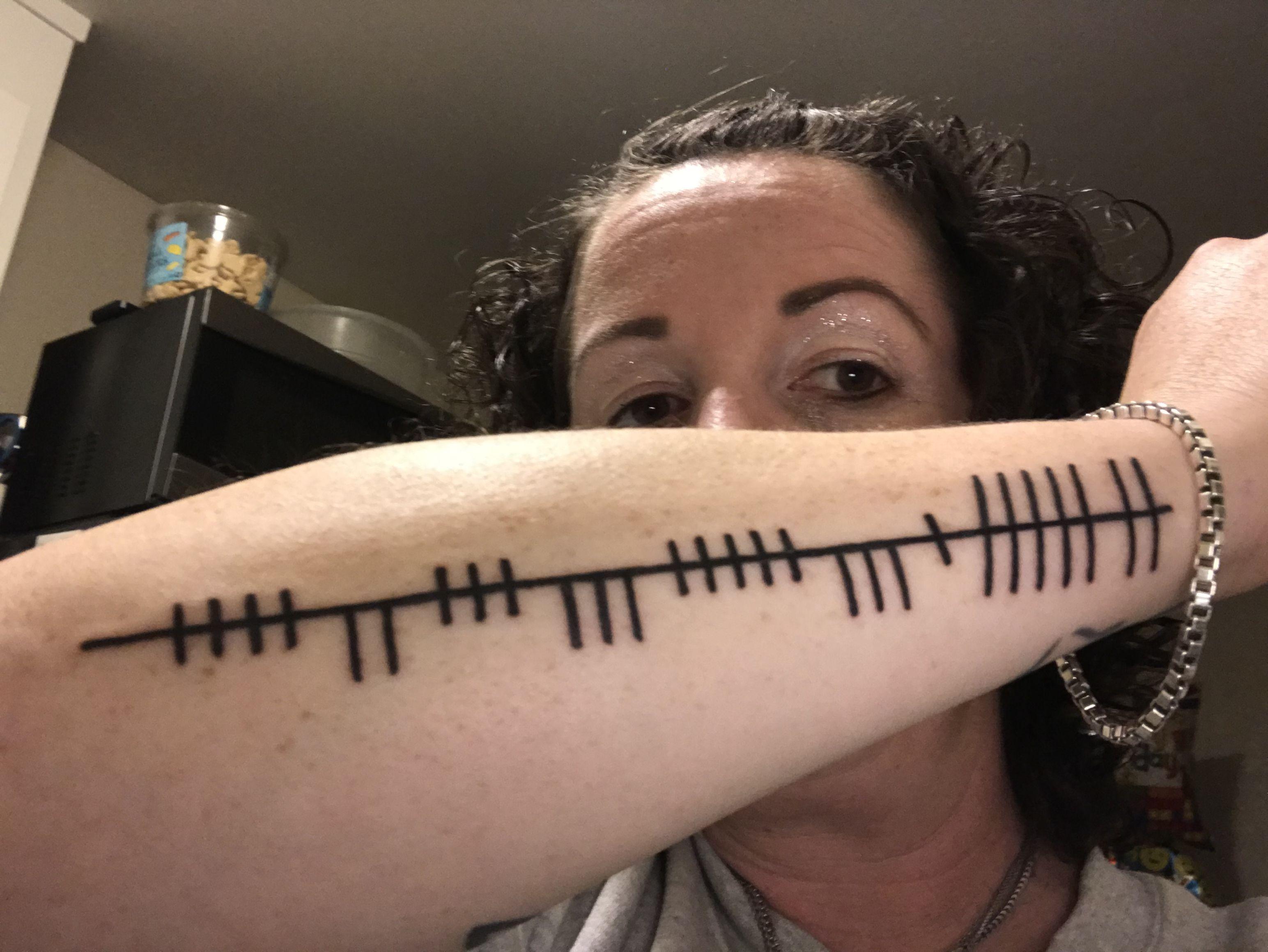 "Ogham tattoo ""gratitude "" | Ogham tattoo | Ogham tattoo ..."