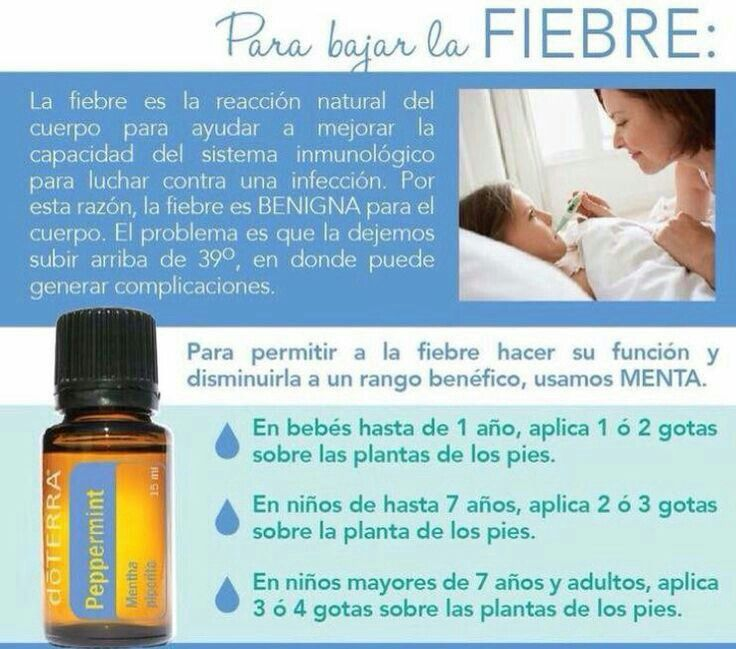 Medicamento para bajar la temperatura a un bebe