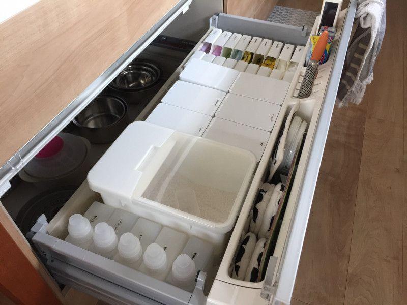 広い空間を生み出す北欧テイストなキッチン Stgram69さんのキッチンを探索 Lixil リクシル アレスタ 2020 アレスタ キッチン 収納 アイデア