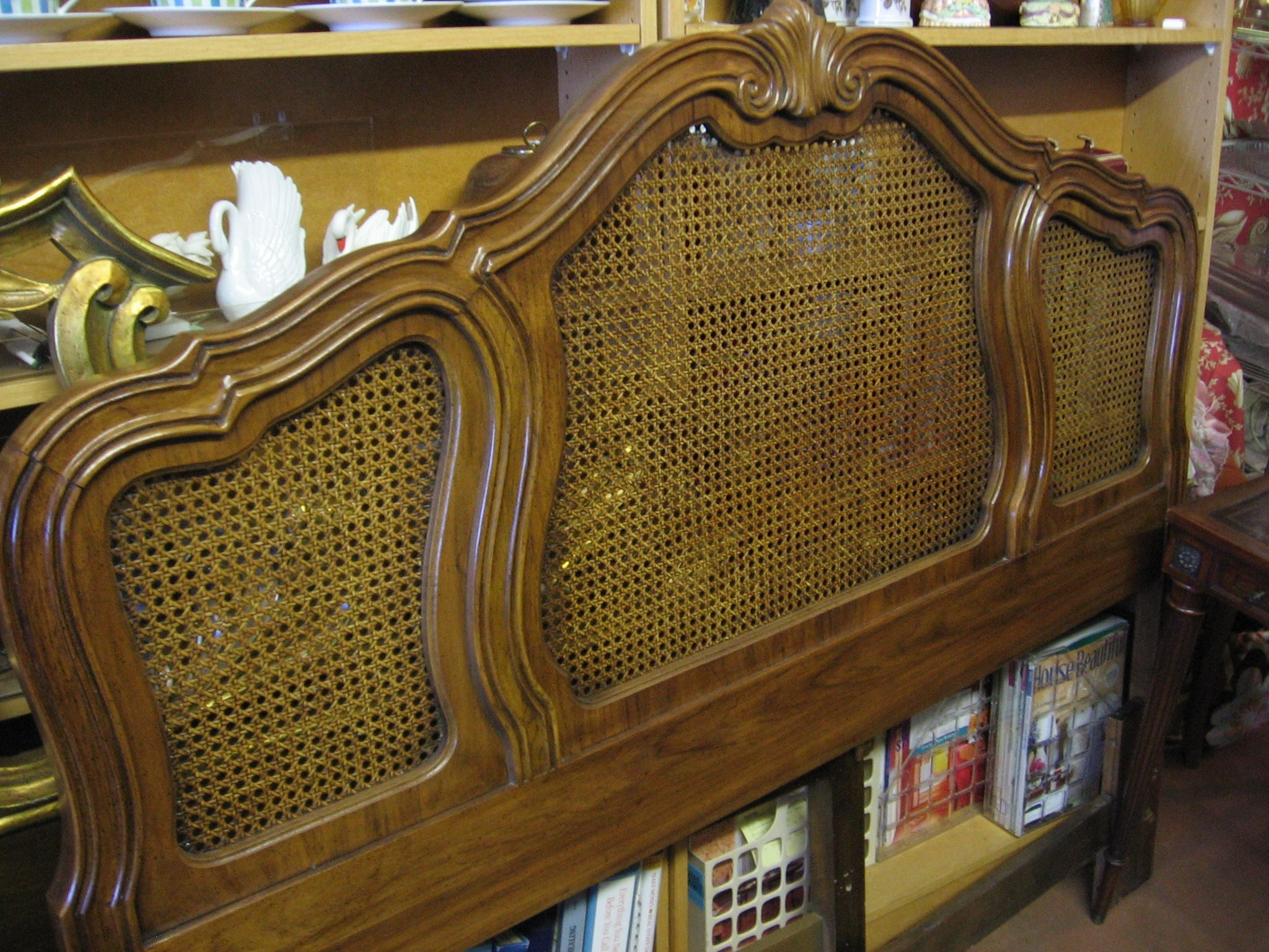Thomasville French Provincial queen headboard Gone to a