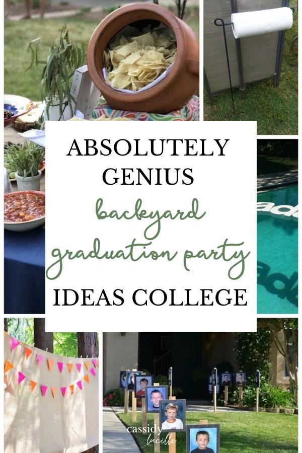 33 Absolute Best Backyard Graduation Party Ideas That Are Affordable In 2021 Backyard Graduation Party Boys Graduation Party Outdoor Graduation Parties
